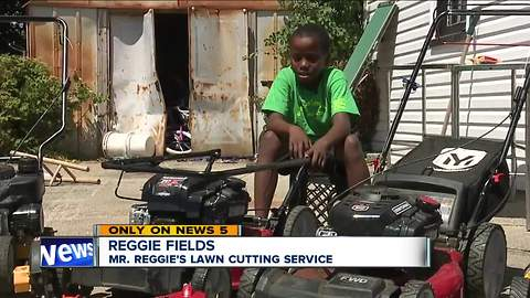 12-year-old lawn-mowing entrepreneur from viral story has big plans for the future
