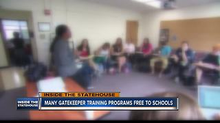 Lawmakers promote youth suicide prevention with school gatekeeper bill - Video