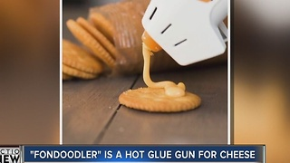 A hot cheese gun?