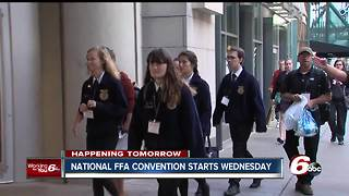 National FFA convention starts Wednesday in Indianapolis - Video