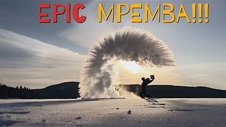 Mpemba Effect Demonstrated in Quebec, Canada - Video