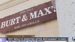 Burt & Max's restaurant in Delray Beach closed; Kitchen staff get rashes - Video
