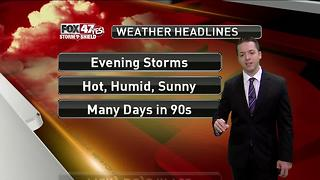 Dustin's Forecast 6-9 - Video