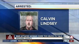 Police: Man attacks woman in Florida over too much TV talk