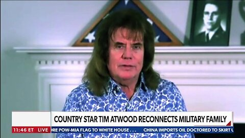 Tim Atwood / Country Music Entertainer - COUNTRY STAR TIM ATWOOD RECONNECTS MILITARY FAMILY