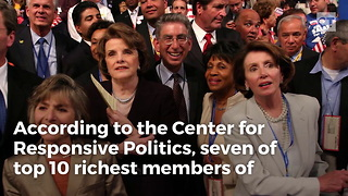 Democrats Dominate List of Wealthiest Lawmakers - Video