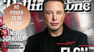 Elon Musk has a fear of being alone - Video