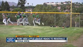 Park View Little League off to Western Regionals - Video