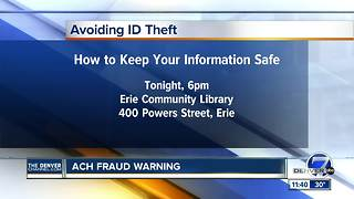 Learn about ACH fraud - Video
