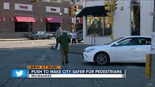 DPW pushing for safer streets for pedestrians - Video