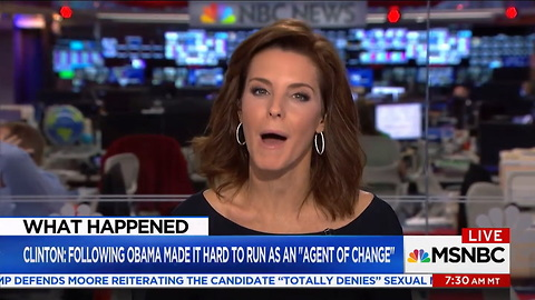 Clinton_ Following Obama Made It Hard To Run As An 'Agent Of Change' _ Velshi & Ruhle _ MSNBC