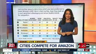Cities compete in crazy ways to get Amazon - Video