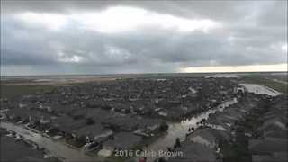 Aerial Footage Shows Extent of Flooding in Houston Area - Video