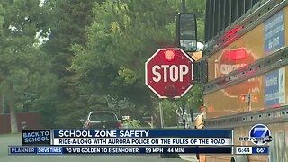 Police reminding residents to stop for stopped school buses