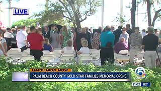 Palm Beach County Gold Star Families Memorial opens