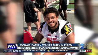 McNair family wants Durkin fired