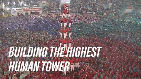 Castellers, human towers of Catalonia