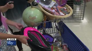 Back to School Sale at St. Vincent's de Paul - Video