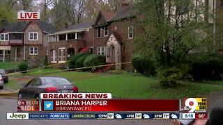 Cincinnati firefighters find body at Avondale house fire - Video