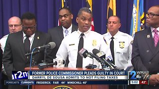 Former Baltimore Police Commissioner pleads guilty to federal tax charges - Video