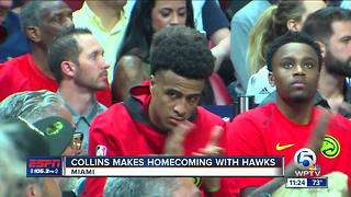 Cardinal Newman grad John Collins makes homecoming - Video