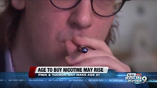 Pima Co to vote on raising age to buy nicotine products