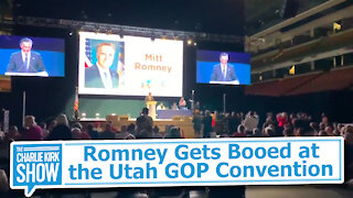 Romney Gets Booed at the Utah GOP Convention