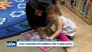 21-Day Read Aloud 15 Minutes Challenge get families back into libraries - Video