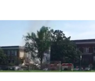 Natural Gas Explosion Injures 9 at Minnehaha Academy - Video