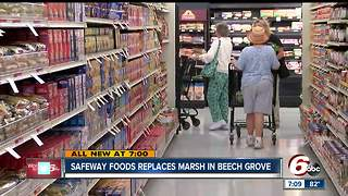 Safeway foods replaces Marsh in Beech Grove