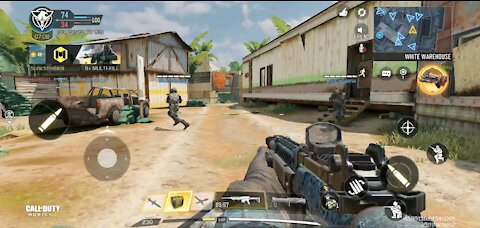 Getting a nuke and going flawless in Call of Duty Mobile
