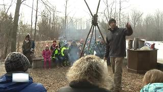 Community members learn how maple syrup is made - Video