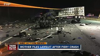 Mother sues after crash killed 5 children heading to Disney