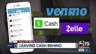 Money apps let people leave cash behind - Video