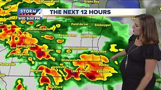 Jesse Ritka's Wednesday 5pm Storm Team 4cast - Video