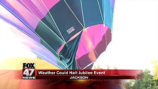 Jubilee hot air balloons grounded for heat