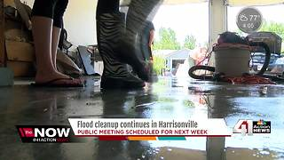 Cleanup in Harrisonville continues after second record-breaking flood - Video