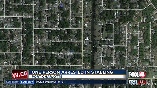 Two stabbed in Port Charlotte - Video