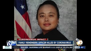 Family remembers officer killed by Coronavirus