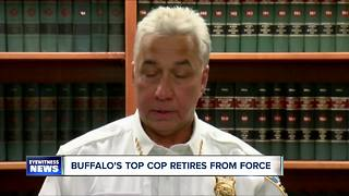 Buffalo Police Commissioner retires - Video
