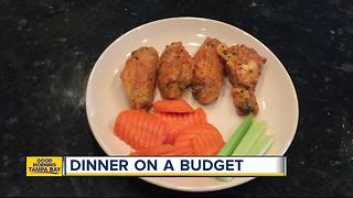 Dinner on a budget: Spend under $15 to feed your family tasty lemon pepper wings - Video