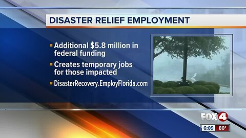 Disaster relief employment approved by DeSantis