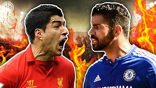 Dirtiest Footballers XI | Pepe, Suárez & Costa! - Video