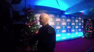 Gail Porter interviewed at Winter Wonderland - Video