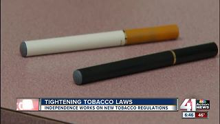 Independence works to tighten tobacco regulations - Video