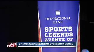 Athletes with Indiana ties to be immortalized at Children's Museum - Video