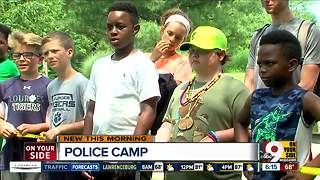 Police Camp lets kids learn about officers beyond the badge - Video