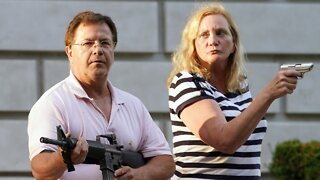 Gunslinging Couple Face Charges For Aiming At Protesters
