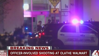 UPDATE: 1 dead following officer-involved shooting at Olathe Walmart - Video
