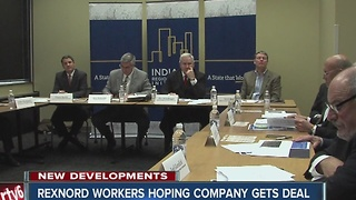 Rexnord workers hoping for deal from state to save jobs - Video